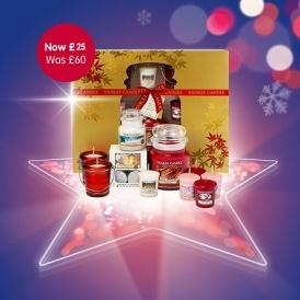 yankee candle christmas set 25 was 60