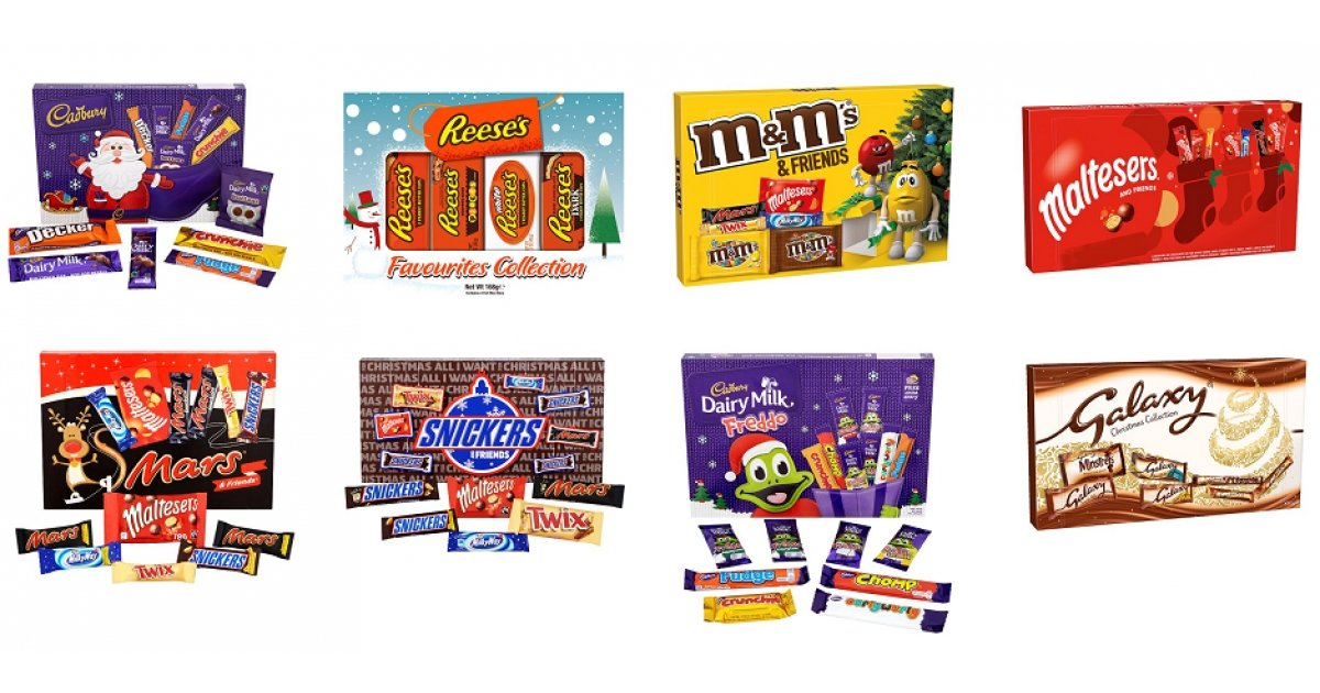 Half Price Selection Boxes From 163 1 Tesco