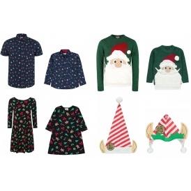 Mini Me Matching Adult Amp Child Christmas Clothing Asda