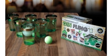 Gin Fling Ping Pong Game