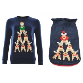 Matching Family Christmas Jumpers Amp Clothing Aldi