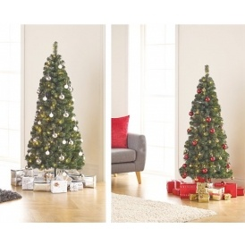 5ft pop up pre lit led christmas tree