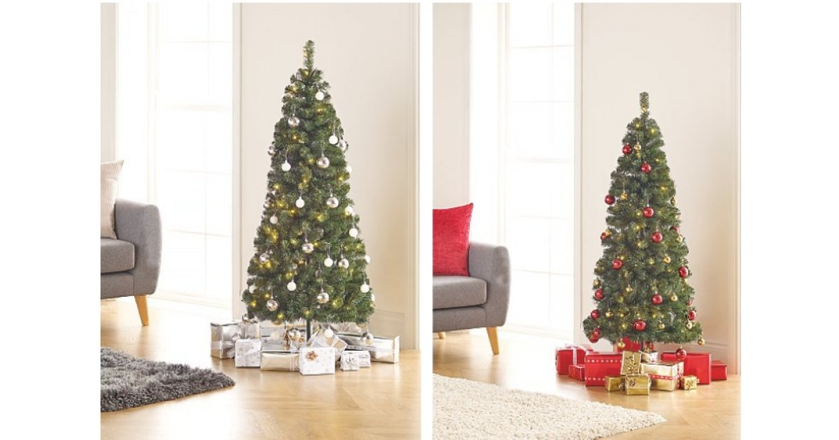 5ft Pop-Up Pre-Lit LED Christmas Tree Including
