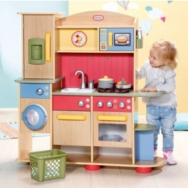 Little Tikes Premium Wooden Kitchen 88