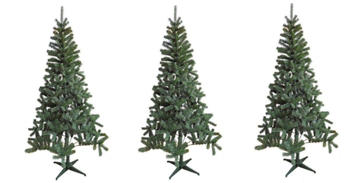 7ft Green Montana Artificial Christmas Tree 10 Homebase