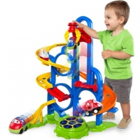 Oball Gogrippers Bounce N Zoom Speedway Activity Toy 163 17