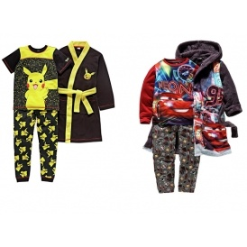 Character Dressing Gown & Pyjama Sets £13.49 @ Argos