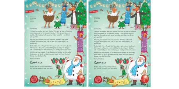 Donate To NSPCC And Get FREE Personalised Letter From Santa