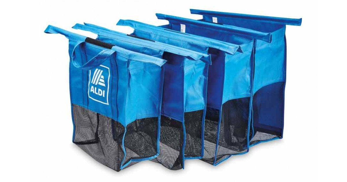 Shopping Trolley Bags Organiser £12.99 Delivered @ Aldi