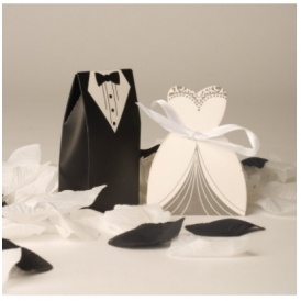 100 Bride And Groom Wedding Favour Boxes 319 Delivered At Amazon