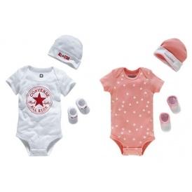 Baby Converse 3 Piece Gift Sets 6 99 Was 19 99 Argos