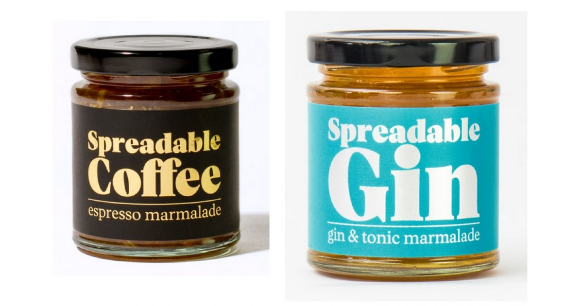 You Can Now Buy Spreadable Gin, Coffee or Beer!