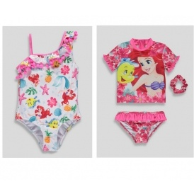 Girls Disney Ariel The Little Mermaid Summer Collection