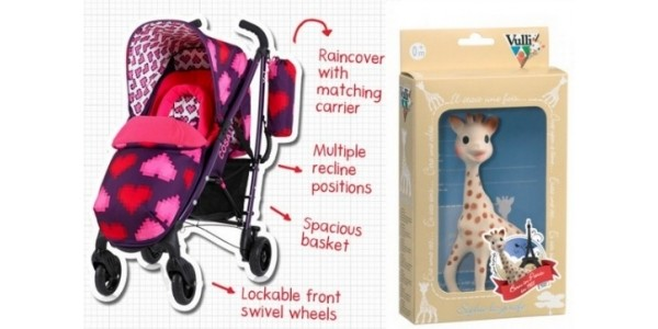 50% Off Sophie La Girafe, Trunki, Cosatto & More (With Code) @ Wauwaa