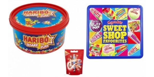Any Two Haribo Share The Fun/Swizzels Sweet Shop Favourites/Celebrations for £5 @ Morrisons