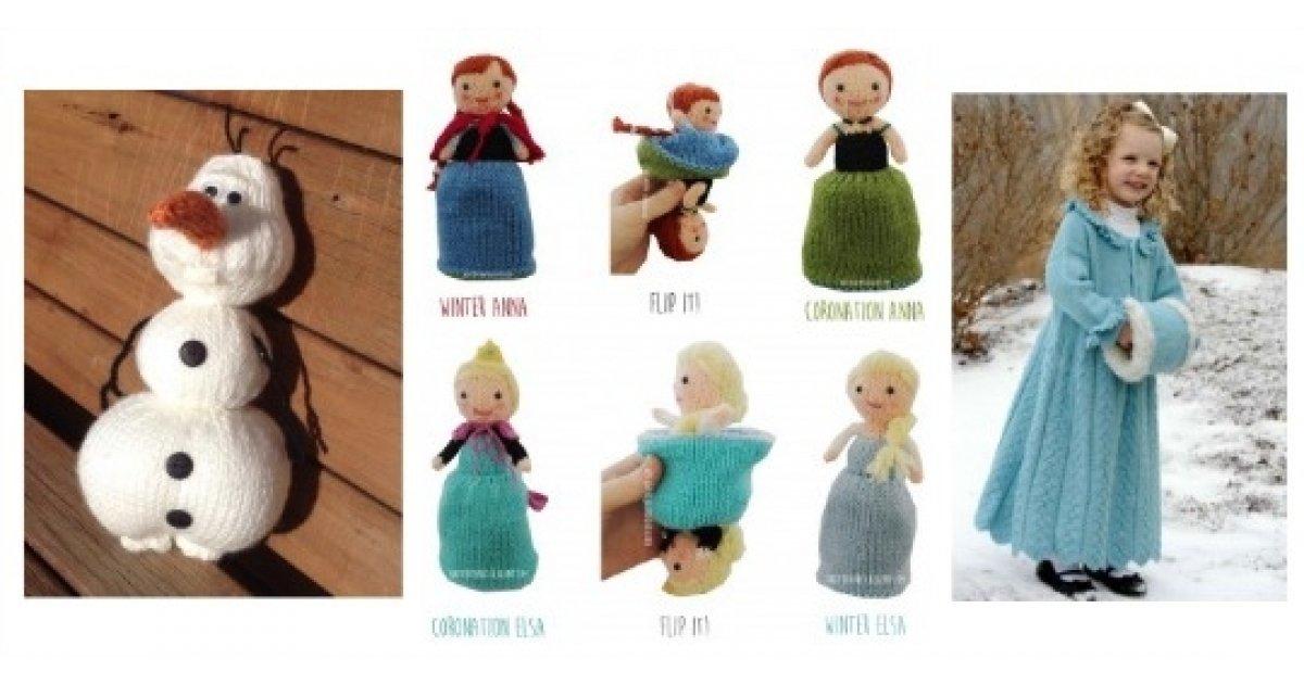 Free Frozen Knitting Patterns Grandmothers Pattern Book