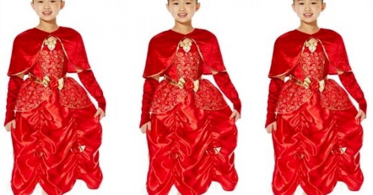 Disney Princess Belle Dress Up Costume 163 8 Clothing Tesco