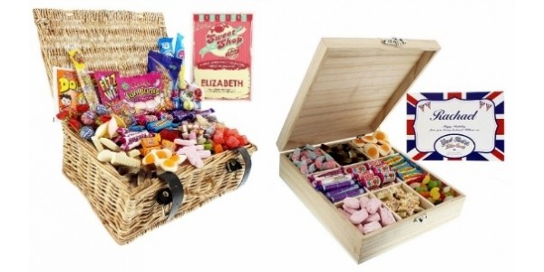 Personalised Retro Sweet Gifts From £7 @ Very