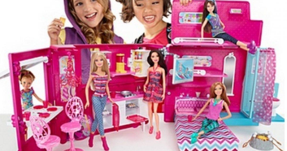 Baby Gift Set Asda : Barbie glam camper play set ? asda direct