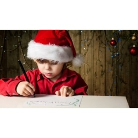 Santa Letters For Blind/Partially Sighted