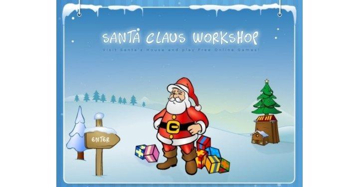 santas workshop games online for free