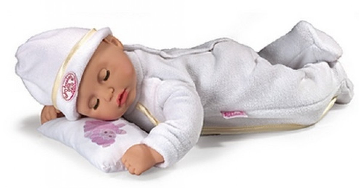 My First Baby Annabell Time To Sleep Doll 163 15 Asda