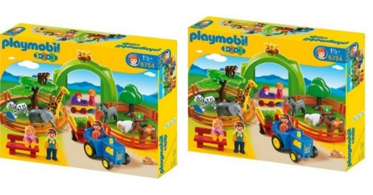 Playmobil 123 Large Zoo Play Set 163 20 Delivered Amazon