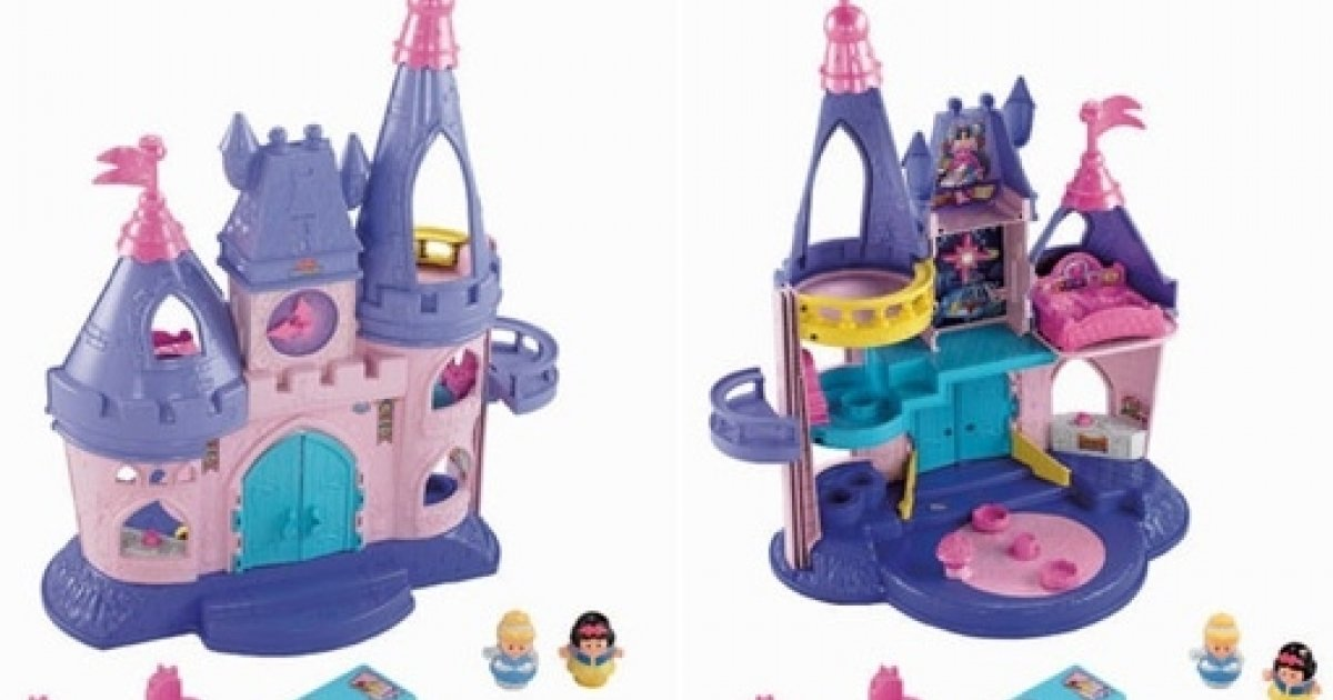 Fisher Price Little People Disney Princess Palace 163 26 49