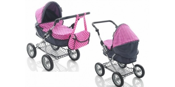 Molly Dolly Deluxe Dolls Pram £27.97 Delivered @ Amazon Seller: net_price_direct