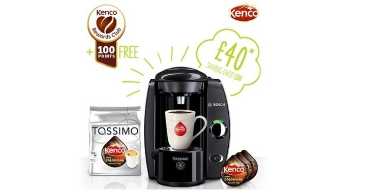 Tassimo Coffee Maker Asda : Tassimo Machine & Kenco Colombian Blend T-discs ?45 Delivered @ Tassimo
