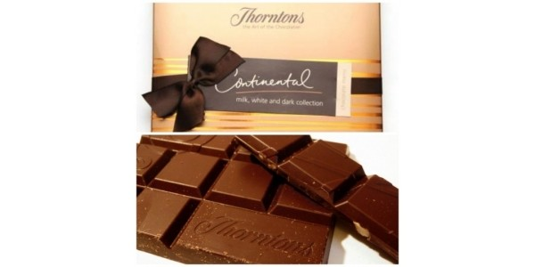 Thorntons Voucher Code: 20% Off When You Spend £35 Today Only