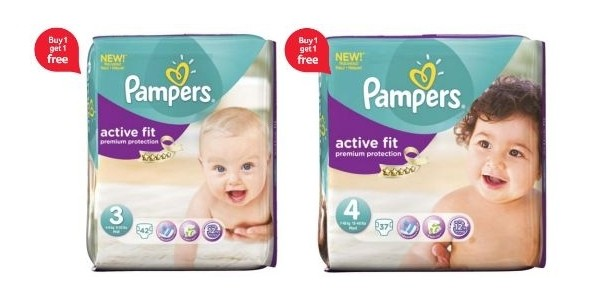 Pampers Essential Packs Size (3 & 4) £8.50 BOGOF @ Tesco Direct