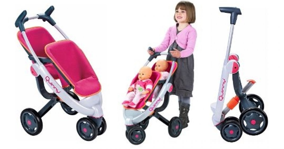 45 Off Smoby Maxi Cosi Quinny 3 Wheel Doll S Twin