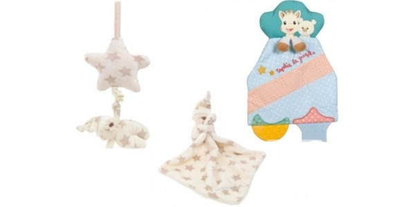 Sophie the Giraffe Comforter, Bedtime Bear Comforter & Bedtime Bear Pull From £3.49 @ Mothercare