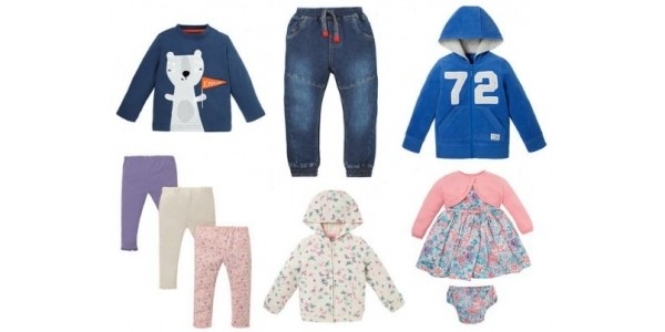 Up To 50% Off Clothing Sale Preview Online NOW @ Mothercare