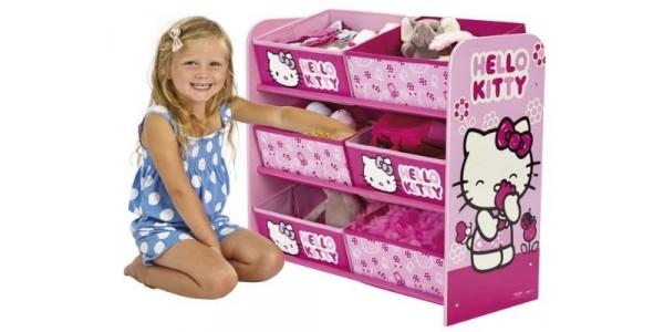 Hello Kitty 6 Bin Storage Unit £24 (was £49) @ Tesco Direct / Amazon