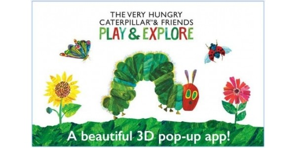 The Very Hungry Caterpillar App For Android: 10p @ Google Play