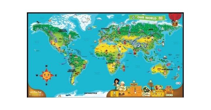 LeapFrog World Map 7 Amazon