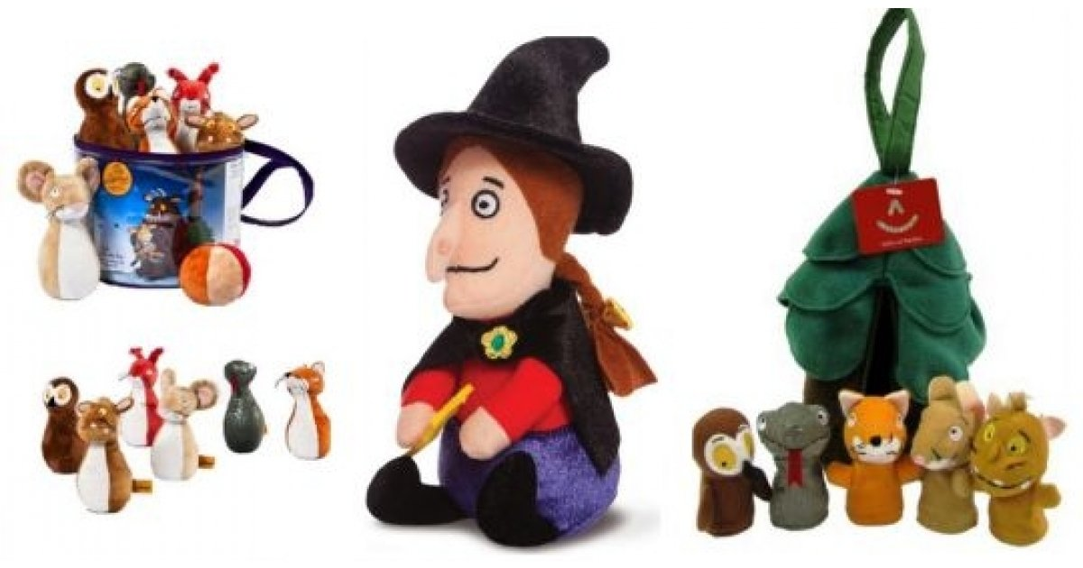 Up To Half Price Soft Toys Including Gruffalo Amp Room On
