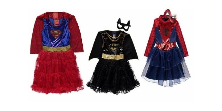 Superhero Costumes For Girls From 163 13 50 Asda George