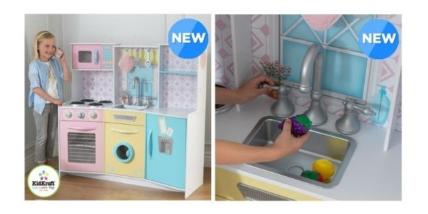 KidKraft Sweet Treats Pastel Kitchen £69.99 Including Delivery @ Costco