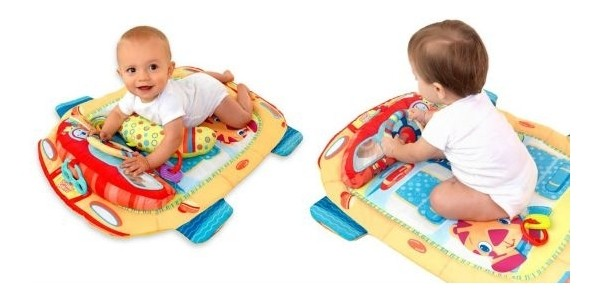 40% Off Bright Starts Tummy Cruiser Prop & Play Mat: Now £13.79 @ Boots