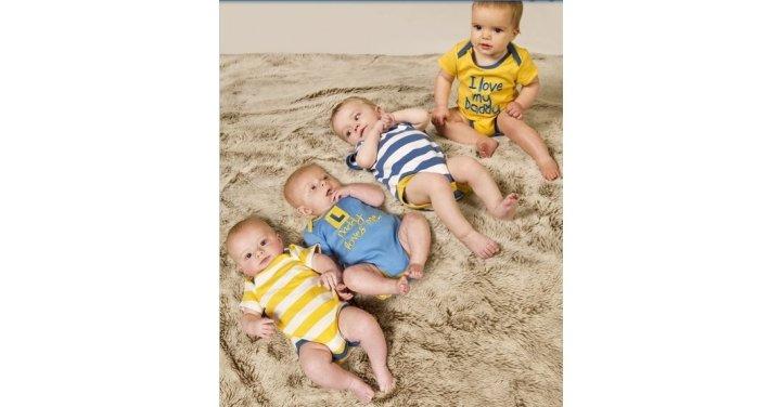 Baby Boy Gifts Debenhams : Pack lamb baby boy bodysuits ? the essential one