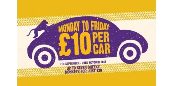 Knowsley Safari Park: £10 Per Car Monday to Fridays