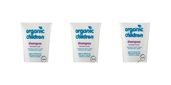 Organic Children Lavender Burst Shampoo Review