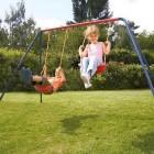 Tesco Double Swing Set 1