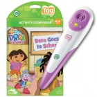 Dora-The-Explorer-Pink-LeapFrog-Tag-Reader-and-Dora-Book-NEW