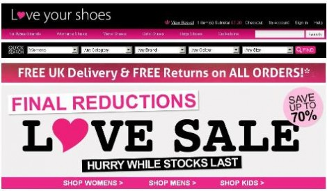 Love Your Shoes Offer Code 1