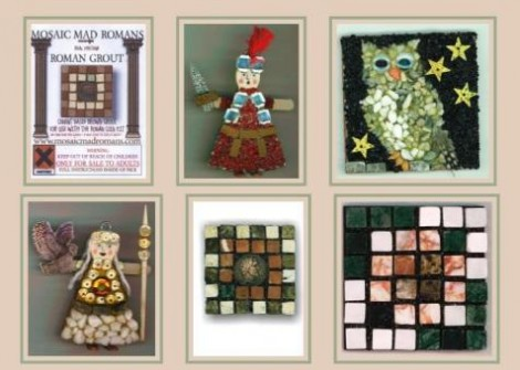 Mosaic Mad Romans Mosaic Kits For Children