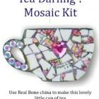 Mosaic Mad Romans Tea Darling Mosaic Kit